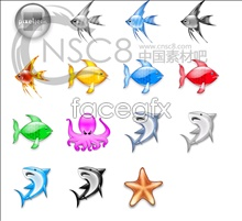 Link toTropical fish crystal icon