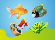 Link toTropical fishes vectors free