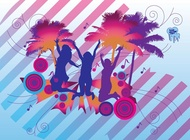 Link toTropical party vector free