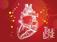 Link toTrue love vector free