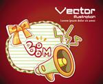 Link toTrumpet printing vector