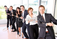 Link toTug of war business people high definition pictures