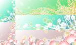 Tulip flowers backgrounds vector