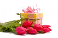 Link toTulip gift box hd pictures