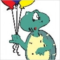 Link toTurtle with balloons