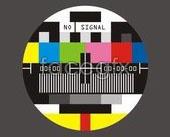 Link toTv no signal screen vector