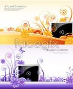 Link toTv screen decoration vector