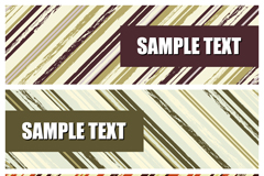 Link toTwill decorative banner vector