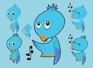Link toTwitter bird vectors free