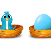 Link toTwitter egg and bird icons icons pack