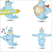 Link toTwitter icon set icons pack