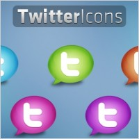Link toTwitter icons icons pack