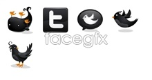 Link toTwitter logo design icons