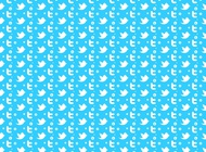 Twitter pattern vector free