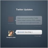 Link toTwitter status updates