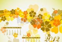 Link toTwo 2012 autumn leaves calendar vector