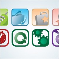 Link toTwo by four icon set