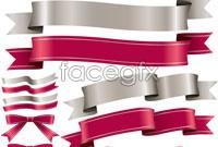 Link toTwo-color ribbon bow ribbon