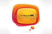 Link toTwo-crystal bubble graphics vector