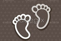 Two lovely small-footprint maps vector