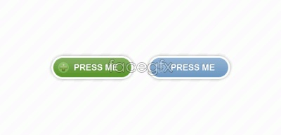 Link toTwo rounded buttons (free psd)