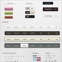 Link toUi web design elements free psd