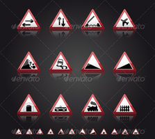 Link toUk road signs: warnings 2