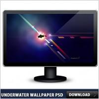 Link toUnderwater free wallpaper psd