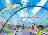 Link toUnderwater world vector free