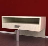 Link toUnique metal foot wooden cabinet 3d model