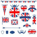 Link toUnited kingdom flag element vector