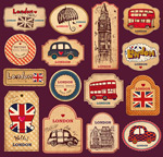 United kingdom the element tag vector