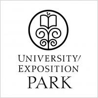 Link toUniversity exposition park logo