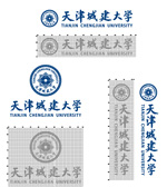 Link toUrban construction of tianjin university logo vector