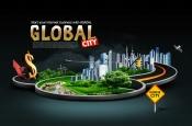 Link toUrban high-speed psd poster
