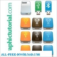 Link toUsb flash drive icons