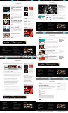 Useful web page templates psd