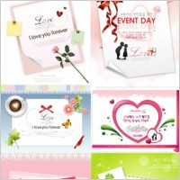 Link toValentine day theme vector