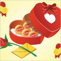 Link toValentine gifts vector