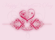Link toValentine heart graphics vector free