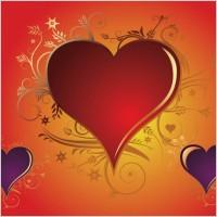 Link toValentine heart vectors