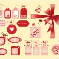 Link toValentine love tags