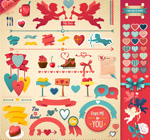 Link toValentine's collection of elements vector