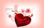 Link toValentine's day atmosphere features psd