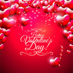 Link toValentine's day fashion background vector