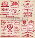 Link toValentine's day flower lace vector