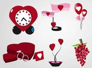 Link toValentine's day gifts vector free