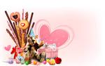 Link toValentine's day love poster psd