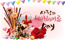 image psd posters love day Valentine's