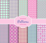 Link toValentine's day pattern background vector